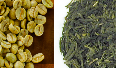 Green tea extract & coffee beans extract
